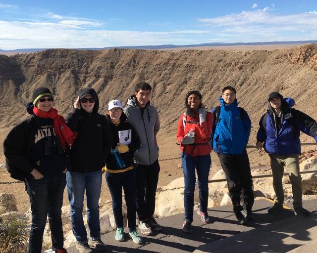 2017 Meteor Crater Field Trip